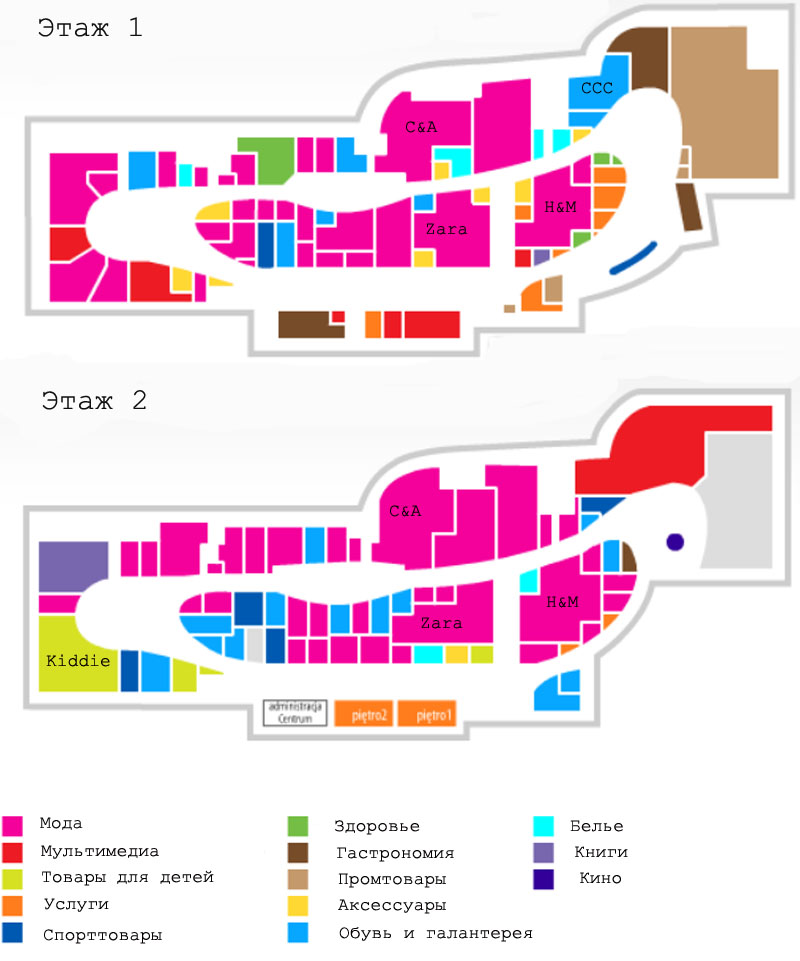центр Alfa Белосток план