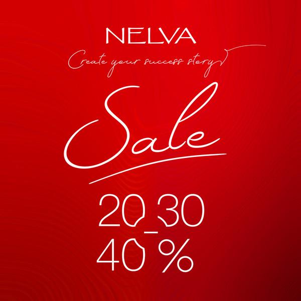 Скидки до 40% в NELVA на весенне-летнюю коллекцию