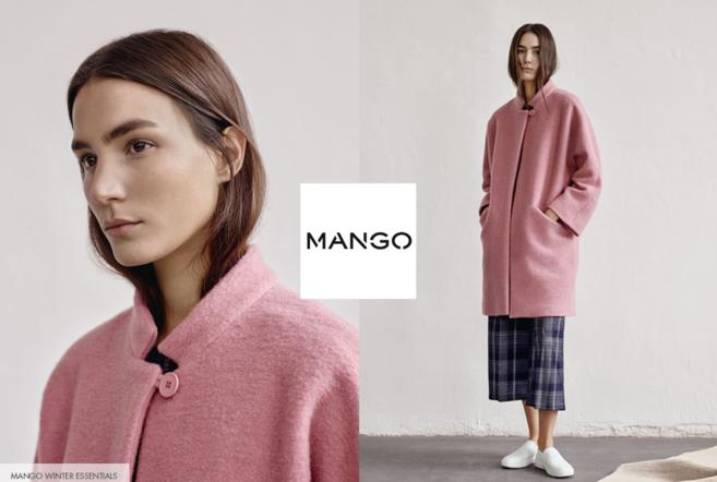 Скидки 25% на пальто Mango