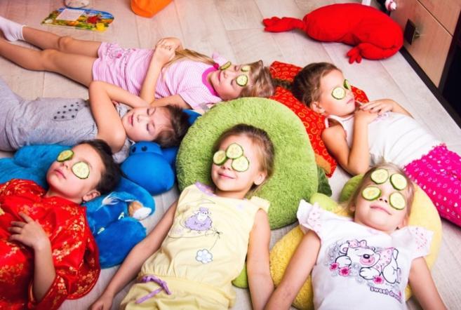 Детская пижамная вечеринка в ТРЦ Galileo