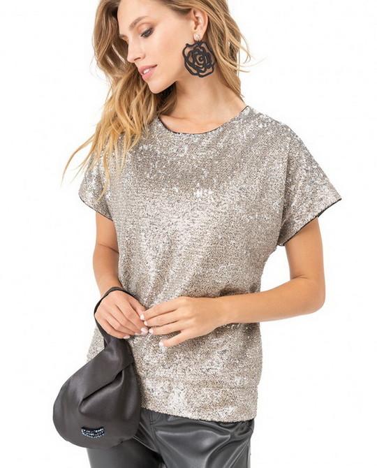 Блуза в пайетки Kiara