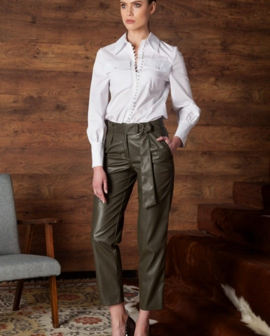 Белая блуза Nova Line