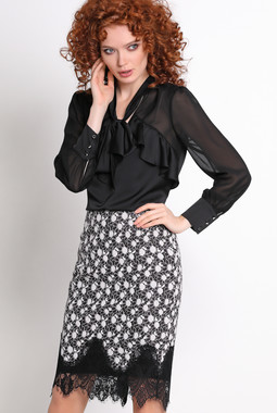 Черная блуза NocheMio