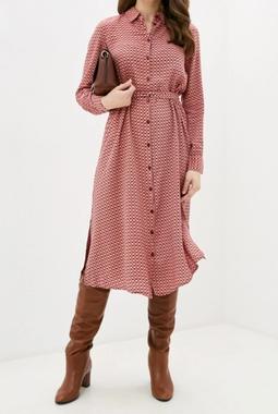 Платье с симметричным принтом Vero Moda
