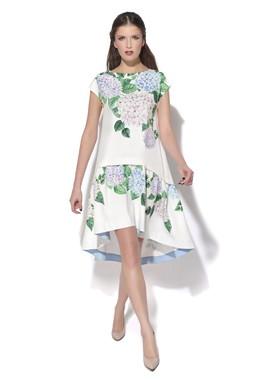 Платье А-силуэта с цветочным принтом CONDRA DELUXE