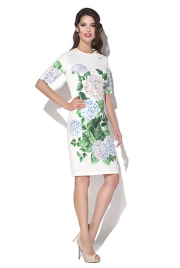 Платье с цветочным принтом CONDRA DELUXE