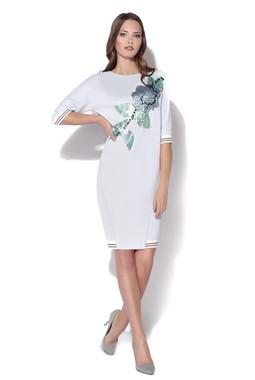 Трикотажное лиловое платье CONDRA DELUXE