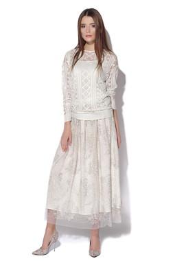 Пуловер с косами и юбка CONDRA DELUXE