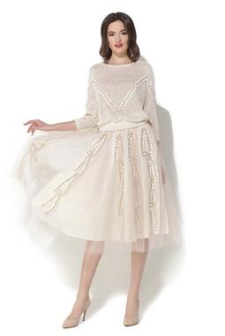 Пуловер и юбка из органзы CONDRA DELUXE