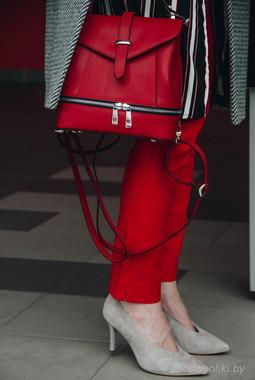 Красный рюкзак Galanteya