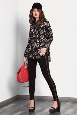 Блузка с цветочным принтом Noche Mio