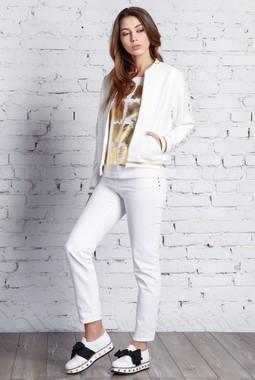 Белая куртка-бомбер Nova Line