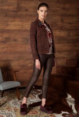 Коричневые брюки Nova Line