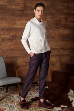 Меланжевые брюки-джоггеры Nova Line