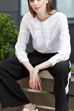 Белая блуза Kiara