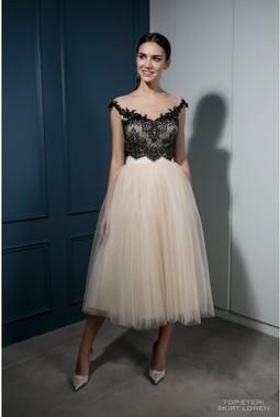 Платье с фатиновой юбкой LeRina