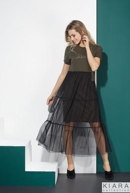 Платье с фатиновой юбкой Kiara