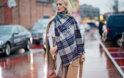 8 способов стильно завязать шарф