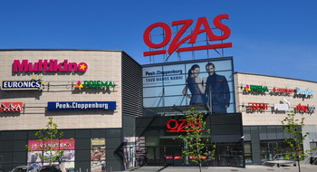 Торговый центр Ozas в Вильнюсе