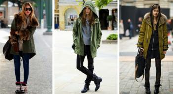 На все случаи жизни: с чем носить куртку-парку зимой