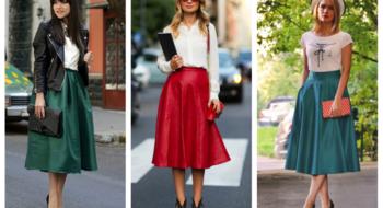 С чем носить юбки-миди: полезные советы
