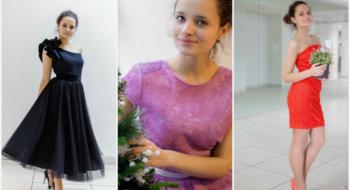 5 вариантов платьев для новогодней ночи