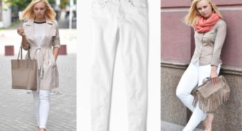 Вещь недели. Белые брюки