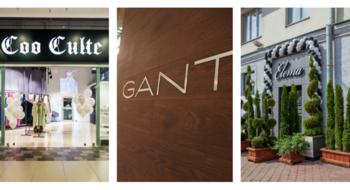 Новые магазины в Минске: Elema, Coo Culte и Gant