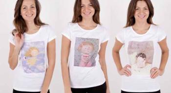 Новая коллекция футболок от Евгении Гапчинской в ТВОЕ