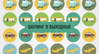 Шопинг в выходные: Вильнюс или Варшава