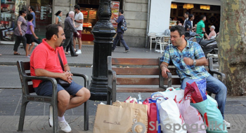 Магазины в Барселоне. Испания. Шоппинг.