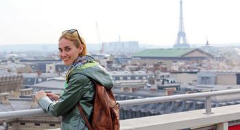 Галерея Лафайет, Эйфелева башня и Париж от Екатерины Тикота