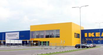 Новый магазин IKEA в Вильнюсе