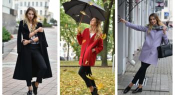 Прогноз одежды на октябрь с пальто Elema