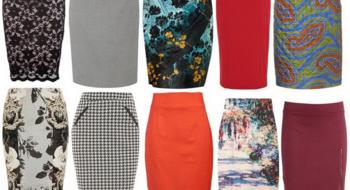 Эскизы «карандашом»: юбка-карандаш в гардеробе