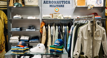 """Где купить одежду в стиле """"милитари"""" в Минске? Фотоотчет с открытия магазина Aeronautica Militare"""