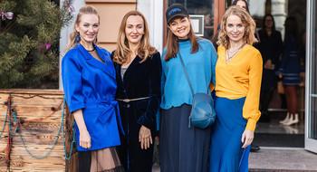 Фотоотчёт с PRETAPORTAL Fashion Coffee в цвете classic blue