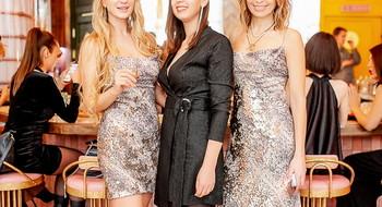Glitter party: как прошел  праздничный PRETAPORTAL Fashion Coffee в баре LEØNE