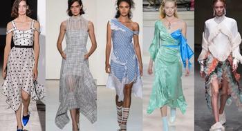 Платочные платья и юбки опять покоряют моду!