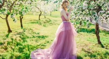 Foto Vitamin - фотосъемка в цветущих садах для поднятия настроения