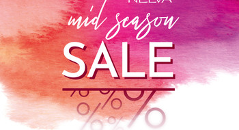 "Акция ""Mid Season Sale"" в магазинах NELVA с 1 по 10 мая!"