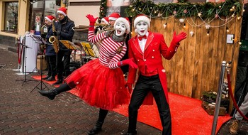 Новогодние сюрпризы в Торговых центрах Минска