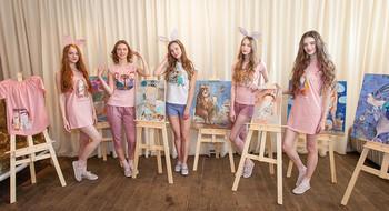 Первая в Беларуси коллекция одежды, созданная в коллаборации с белорусским художником Анной Силивончик