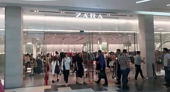 Какие еще магазины появились в Dana Mall вместе с ZARA?