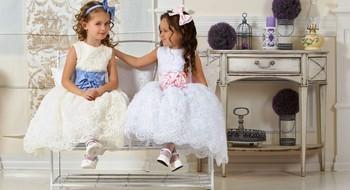 Выбираем нарядное платье для девочек.