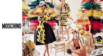 Рекламная кампания MOSCHINO «Весна-Лето 2016»
