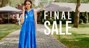 Final Sale в магазинах NELVA