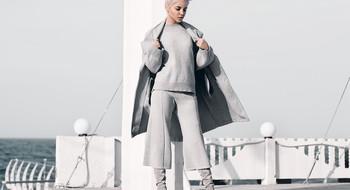 Как стильно носить серый?
