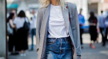 Простая белая футболка: как выбрать, с чем носить