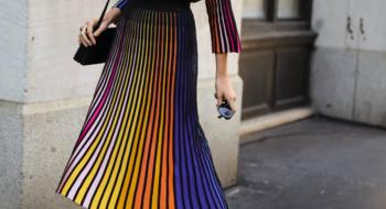 Кратко и по делу: плиссированные юбки